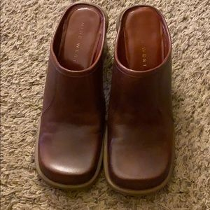 Vintage Nine West Mule Clogs